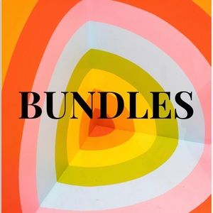 Create bundles for discount!